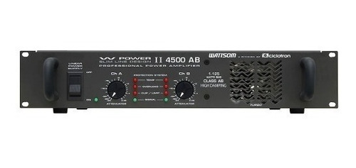 amp de potência 2ch 1125w w powerii 4500 ab ciclotron