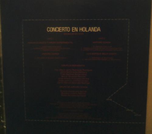 amparo ochoa, adrian goizueta: concierto en holanda ( lp)