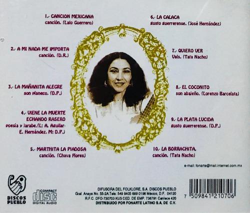 amparo ochoa, cancionero popular vol 3 cd nuevo, sellado