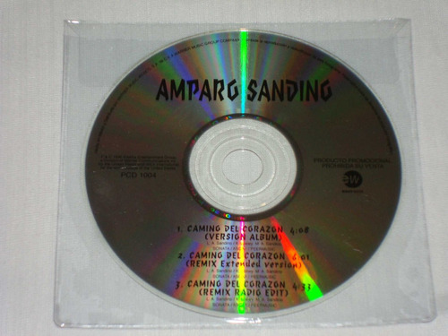 amparo sanding - camino del corazon cd promo east west