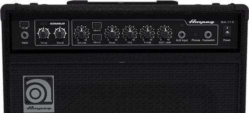 ampeg 75w amplificador bajo