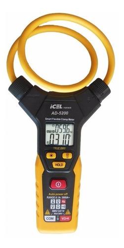 amperímetro ad-5200 icel 6000 corrente ac