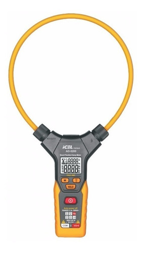 amperímetro ad-5200 icel 6000 tensão dc/ac