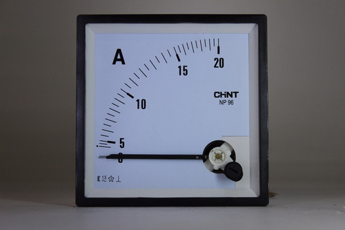 amperímetro analógico direto 72x72 ou 96x96 - chint