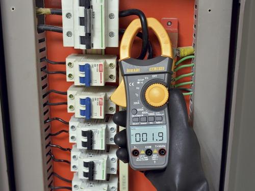 amperímetro capacímetro corrente contínua dc hikari ha-3610