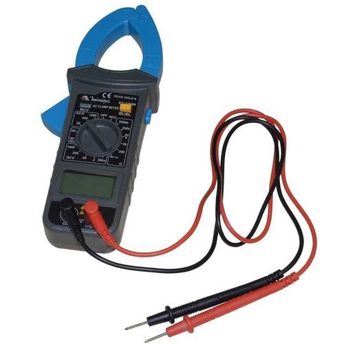 amperímetro multímetro digital alicate et-3200b minipa