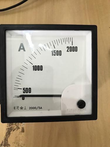 amperímetros e voltimetros analogicos