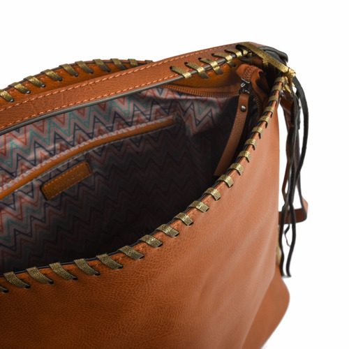 amphora amabelia corte recto café cartera para mujer