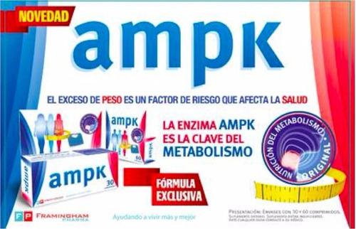 ampk adelgazante   x 60 comp.  vendemos solo original !1