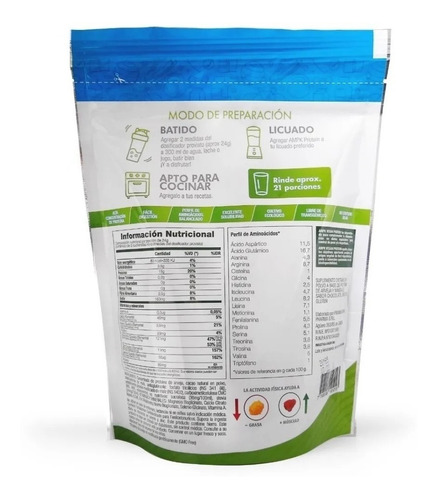ampk protein - proteína vegana oferta. minerales quelatados