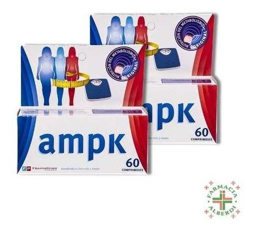 ampk x 120 comprimidos - tratamiento completo