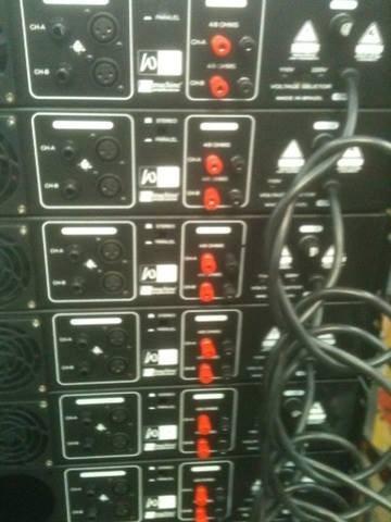ampli. profissional w vox a 500 mixer