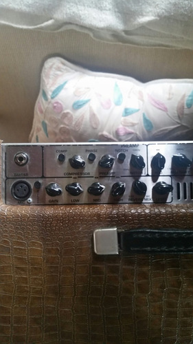 ampli tech 21 bronzewood, usa, voz e violão, troca