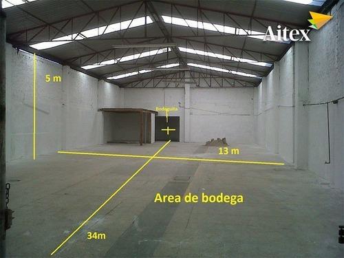 amplia bodega en renta en la colonia tacuba