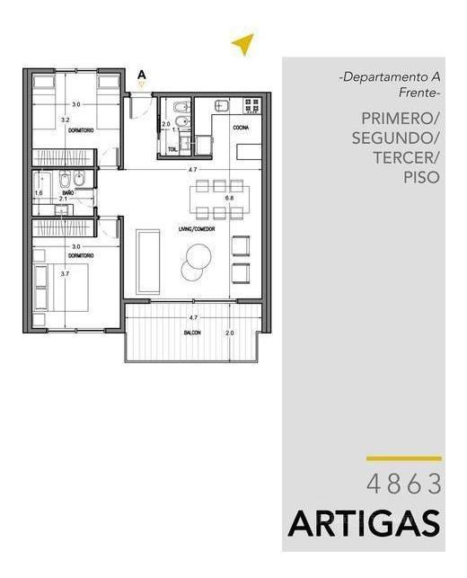 amplia financiación! departamento 3 ambientes  de 75 m2 en el centro de villa ballester!