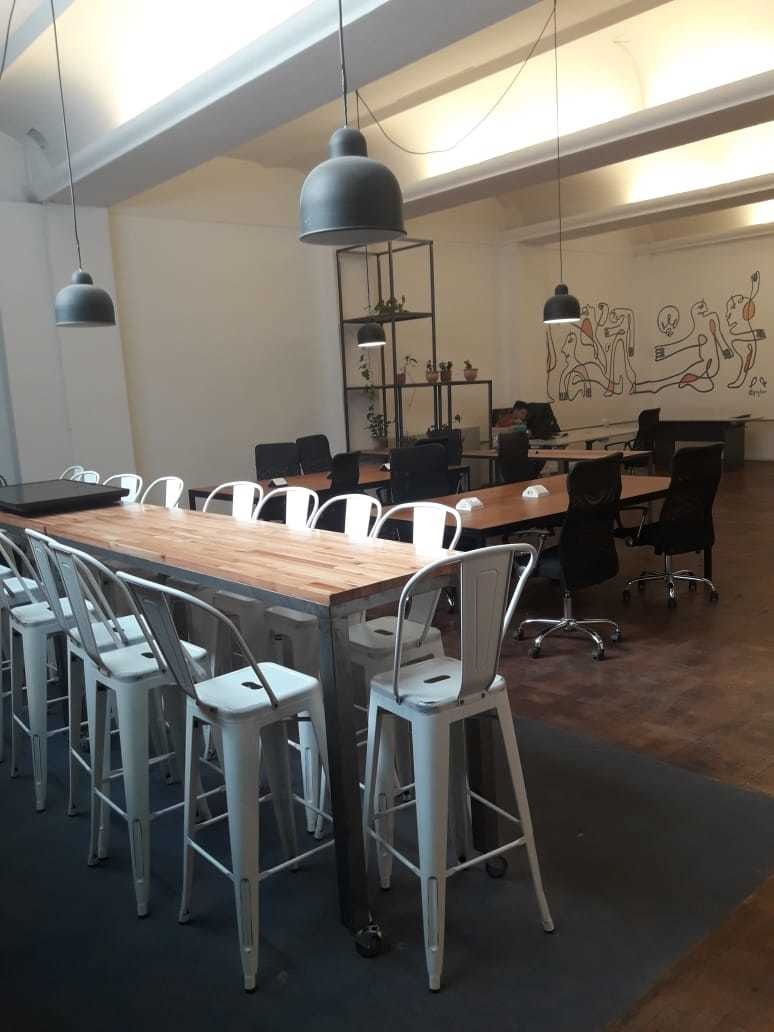 amplia oficina en alquiler dentro de la galeria san martin !