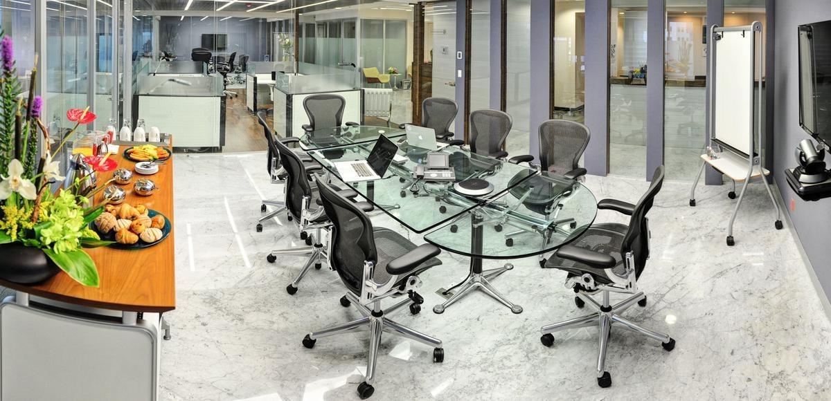 amplia oficina en corporativo de santa fe -  renta