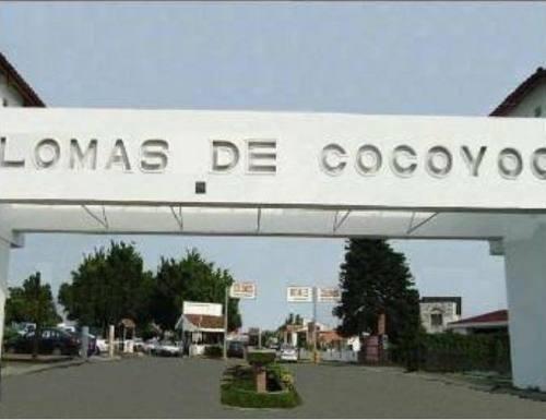 amplia propiedad con alberca en lomas de cocoyoc, cuernavaca