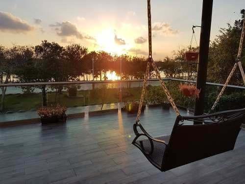 amplia y moderna casa en venta lagos del sol cancun