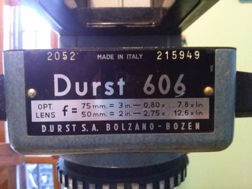 ampliadora blanco y negro marca durst mod. 606