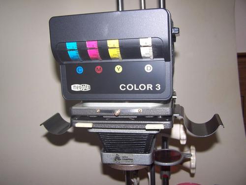ampliadora  magnifax con cabezal cromatico meopta color 3