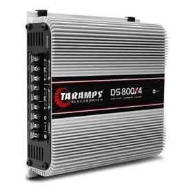 Amplicador Taramps Ds800 X4 Canal 800wrms 2 Ohm Novo Ts800x4