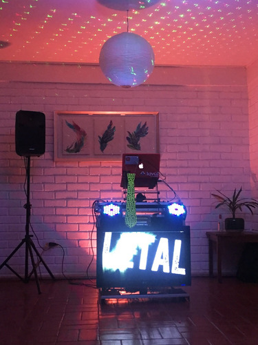 amplificación, dj, karaoke, animación e iluminación
