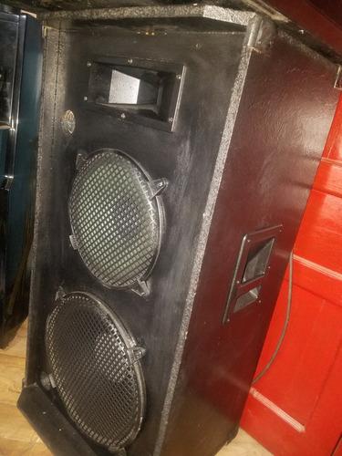 amplificacion yamaha emx +2 parlante dj 800w consola vintage