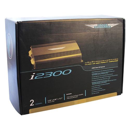 amplificador 2 canales image dynamics i2300 500 watts