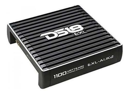 amplificador 2 canales para car audio 1100 w ds18 exla11k2