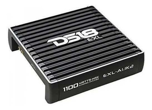amplificador 2 canales para car audio 1100 w ds18 exla11k2