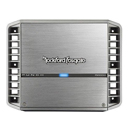 amplificador 2 canales rockford pm300x2 300 vatios