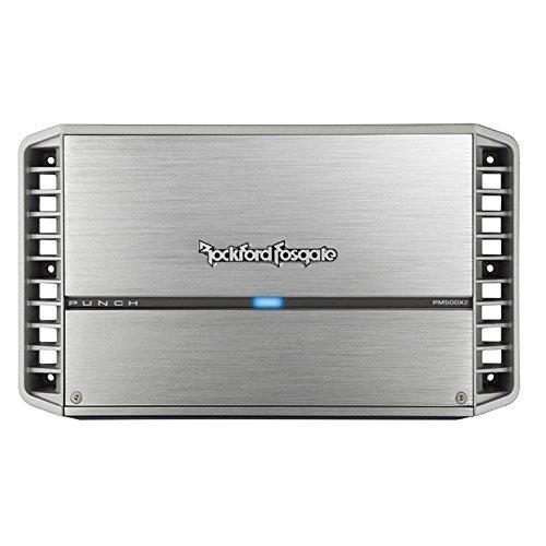 amplificador 2 canales rockford pm500x2 500 vatios