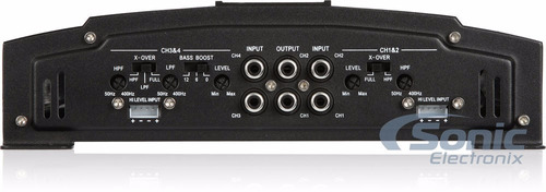 amplificador 4 canales 2300 watts power acoustic rep4.2300