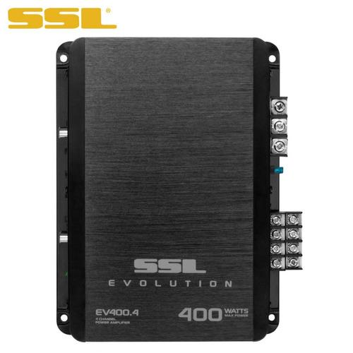 amplificador 4 canales ssl ev400.4 400 watts 2 ohms