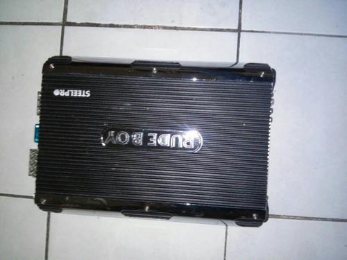 amplificador 4 canales steel pro line rude boy