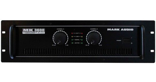 amplificador 4 ohms mk 3600 mark audio 600w