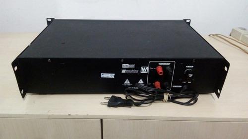 amplificador a250 mix machine 100wts