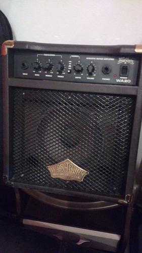 amplificador acústico washburn wa20