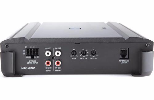 amplificador alpine mrv-m1200 monoblock 1200 watts rms