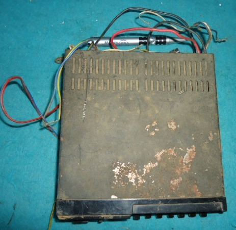 amplificador antigo huedu automotivo