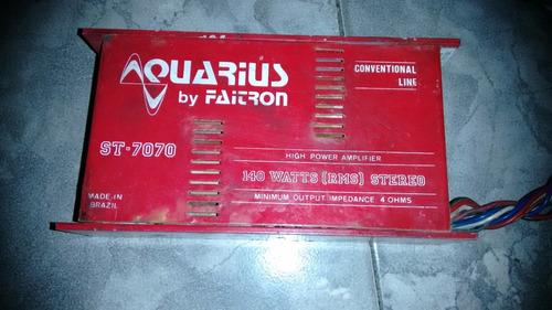 amplificador aquarius st7070