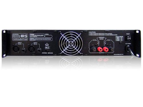 amplificador audio backstage
