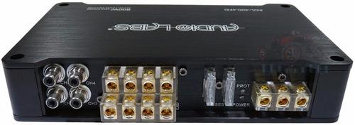 amplificador audio labs clase d 4 canales 400w mini 400.4fd