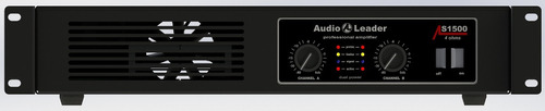 amplificador audio leader als 1500 1500 watts rms em 4 ohms