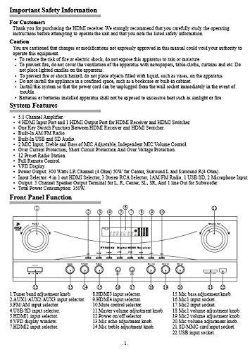 amplificador audio para