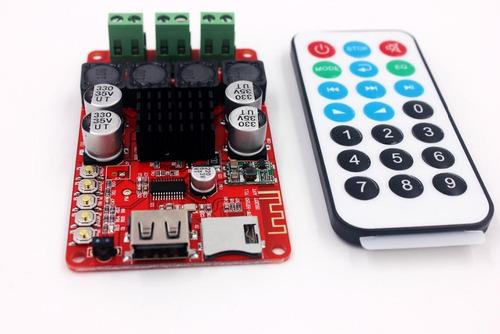 amplificador audio tpa3116 50 w + 50 w bluetooth receptor