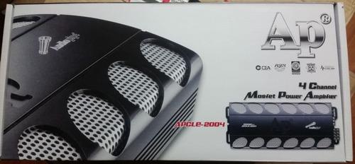 amplificador audiopipe apcl-2004 4 canales 2000 watss