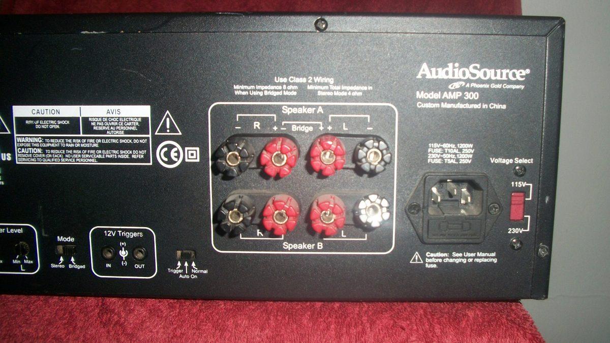amplificador audiosource amp 300 3 500 00 en mercado libre rh articulo mercadolibre com mx Source Audio Amplifier High Current Amplifier
