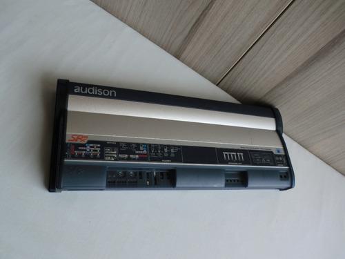 amplificador audison srx3  y subwoofer rockford prime r1s412